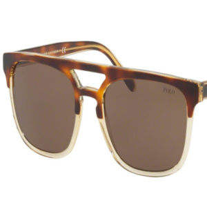 POLO Accessories - NWT Polo PH 4125 563773 Havana Sunglasses